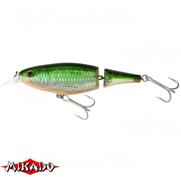 Воблер Mikado JOINTED PADDLE FISH 13 см. / 14 - плавающий, шт