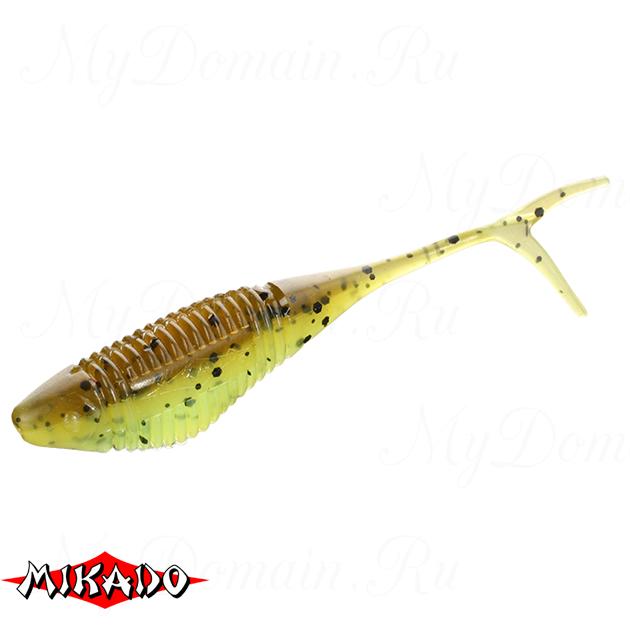 Червь силиконовый Mikado FISH FRY для drop shot 6.5 см. / 346  уп.=5 шт., упак