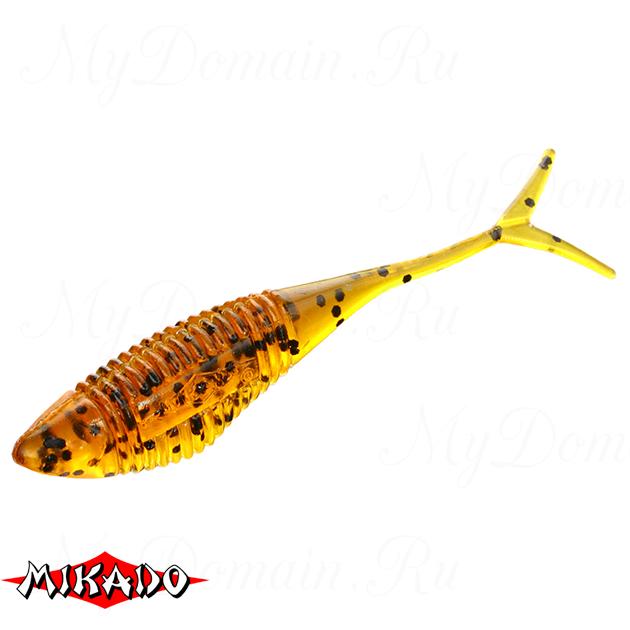 Червь силиконовый Mikado FISH FRY для drop shot 6.5 см. / 350  уп.=5 шт., упак