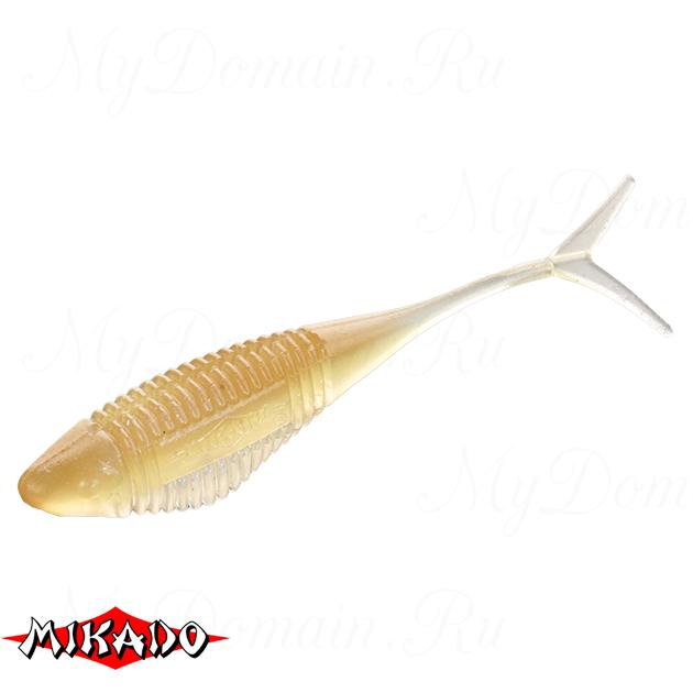 Червь силиконовый Mikado FISH FRY для drop shot 8 см. / 342  уп.=5 шт., упак