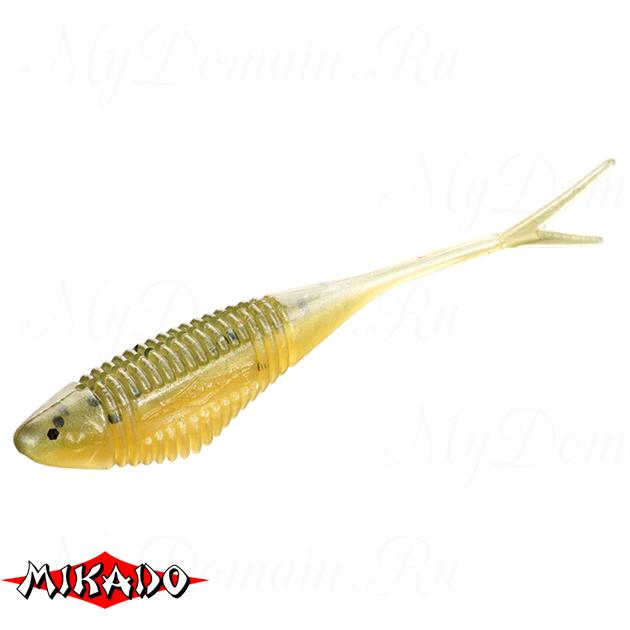 Червь силиконовый Mikado FISH FRY для drop shot 8 см. / 347  уп.=5 шт., упак