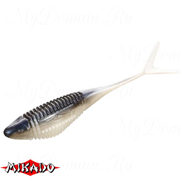 Червь силиконовый Mikado FISH FRY для drop shot 8 см. / 351  уп.=5 шт., упак