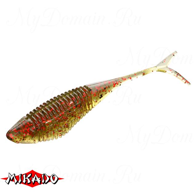 Червь силиконовый Mikado FISH FRY для drop shot 8 см. / 358  уп.=5 шт., упак