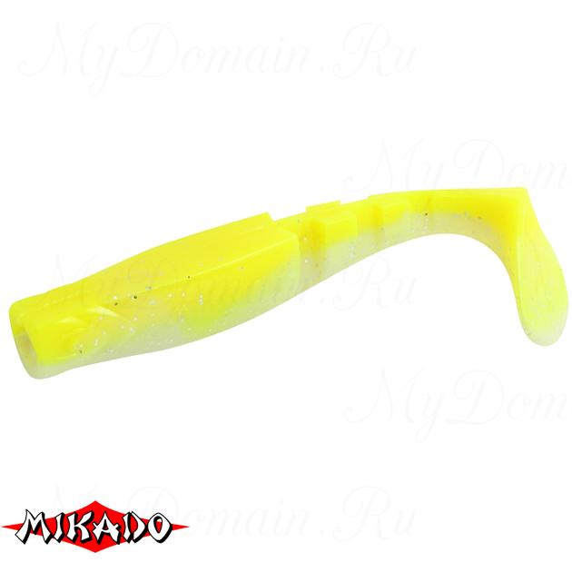 """Виброхвост Mikado FISHUNTER 2 """"съедобная резина"""" 6.5 см. / 307  уп.=5 шт., упак"""