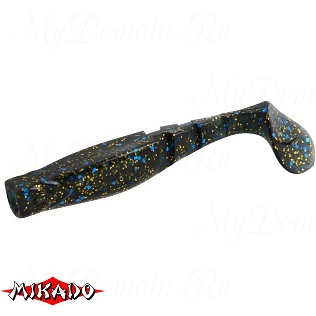 """Виброхвост Mikado FISHUNTER 2 """"съедобная резина"""" 6.5 см. / 330  уп.=5 шт., упак"""