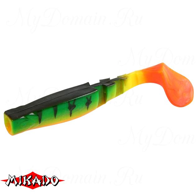 """Виброхвост Mikado FISHUNTER 2 """"съедобная резина"""" 6.5 см. / 335  уп.=5 шт., упак"""