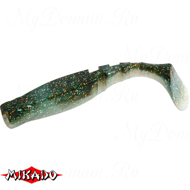 """Виброхвост Mikado FISHUNTER 2 """"съедобная резина"""" 7.5 см. / 302  уп.=5 шт., упак"""