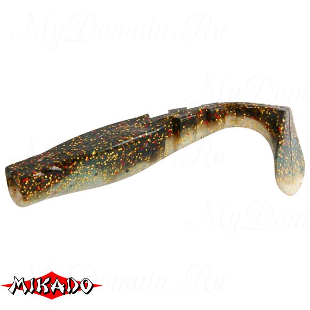 """Виброхвост Mikado FISHUNTER 2 """"съедобная резина"""" 7.5 см. / 304  уп.=5 шт., упак"""