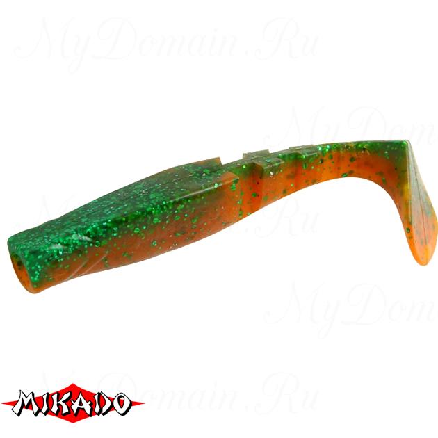 """Виброхвост Mikado FISHUNTER 2 """"съедобная резина"""" 7.5 см. / 312  уп.=5 шт., упак"""