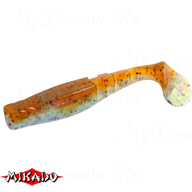 """Виброхвост Mikado FISHUNTER 2 """"съедобная резина"""" 7.5 см. / 319  уп.=5 шт., упак"""