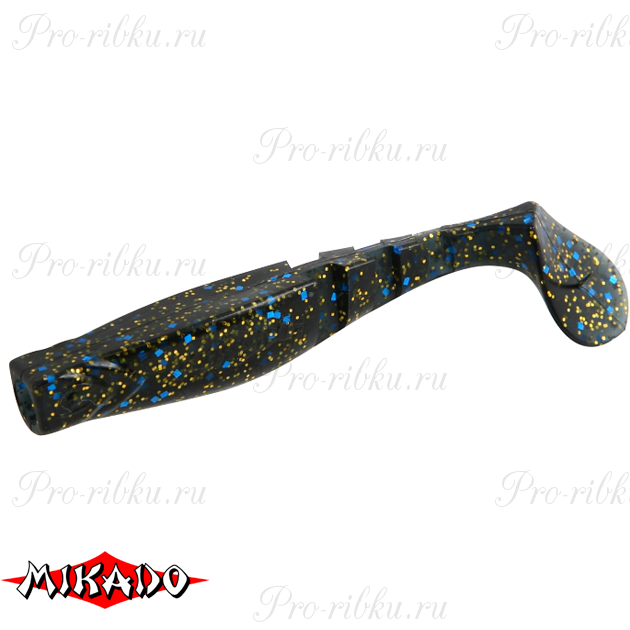 """Виброхвост Mikado FISHUNTER 2 """"съедобная резина"""" 7.5 см. / 330  уп.=5 шт., упак"""