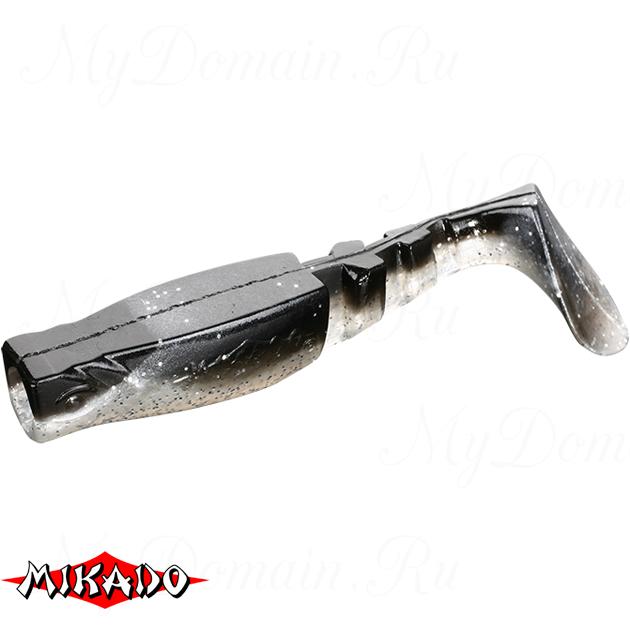 """Виброхвост Mikado FISHUNTER 2 """"съедобная резина"""" 7.5 см. / 357  уп.=5 шт., упак"""