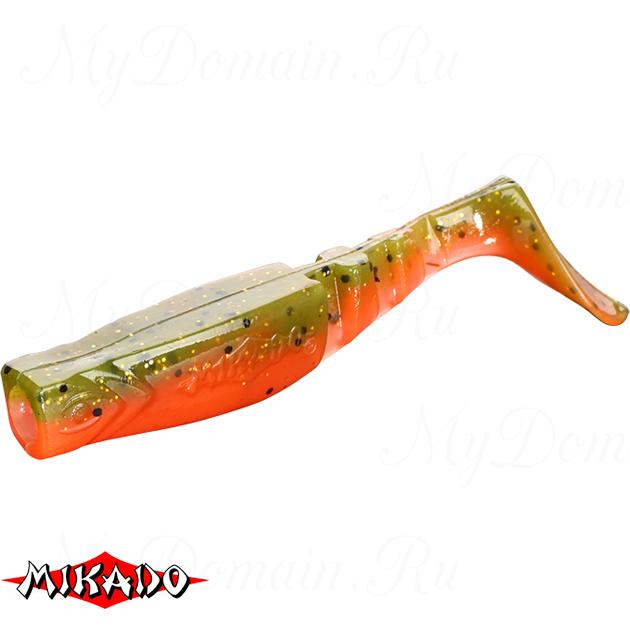 """Виброхвост Mikado FISHUNTER 2 """"съедобная резина"""" 9.5 см. / 343  уп.=5 шт., упак"""