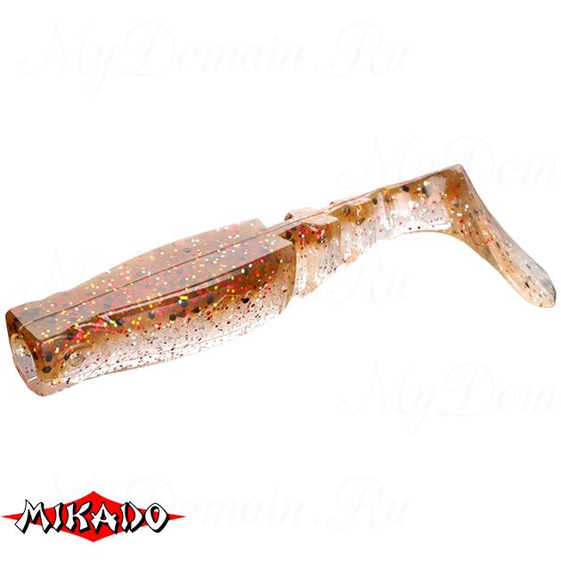 """Виброхвост Mikado FISHUNTER 2 """"съедобная резина"""" 9.5 см. / 345  уп.=5 шт., упак"""