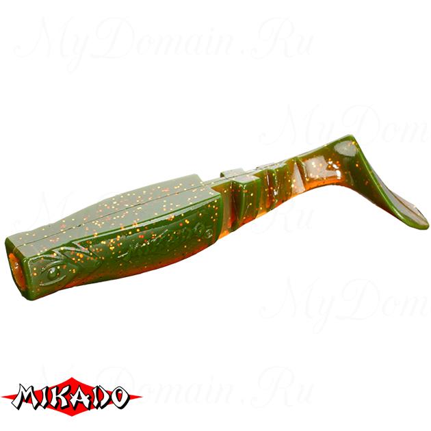 """Виброхвост Mikado FISHUNTER 2 """"съедобная резина"""" 9.5 см. / 349  уп.=5 шт., упак"""