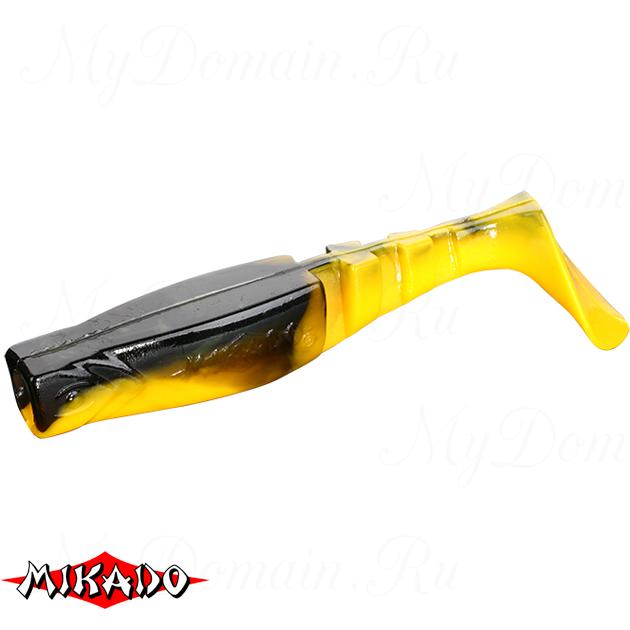 """Виброхвост Mikado FISHUNTER 2 """"съедобная резина"""" 9.5 см. / 354  уп.=5 шт., упак"""