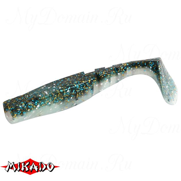 """Виброхвост Mikado FISHUNTER 2 """"съедобная резина"""" 11.5 см. / 303  уп.=3 шт., упак"""