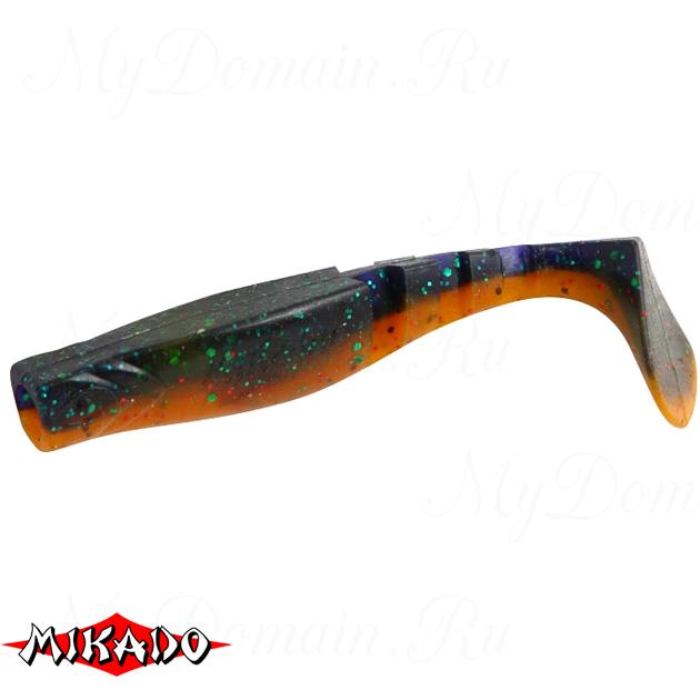 """Виброхвост Mikado FISHUNTER 2 """"съедобная резина"""" 11.5 см. / 311  уп.=3 шт., упак"""