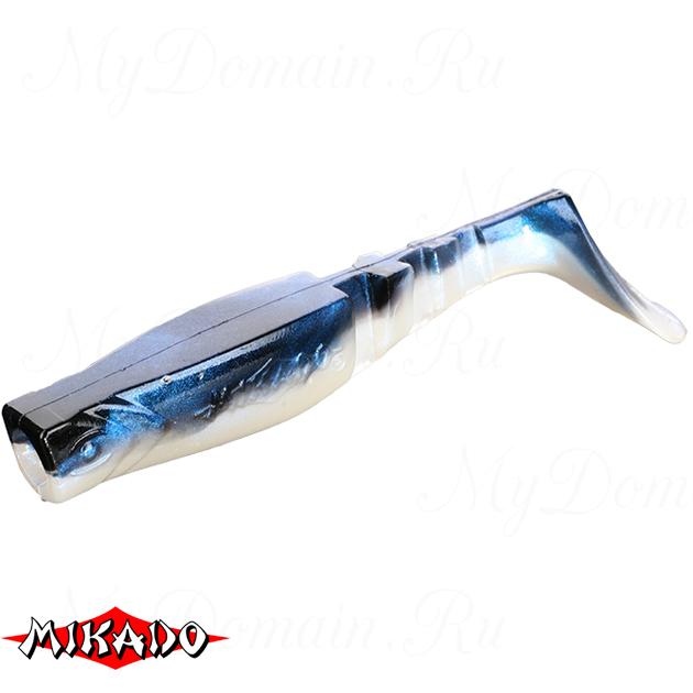 """Виброхвост Mikado FISHUNTER 2 """"съедобная резина"""" 11.5 см. / 351  уп.=3 шт., упак"""