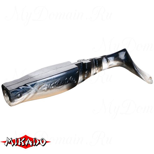 """Виброхвост Mikado FISHUNTER 2 """"съедобная резина"""" 11.5 см. / 355  уп.=3 шт., упак"""
