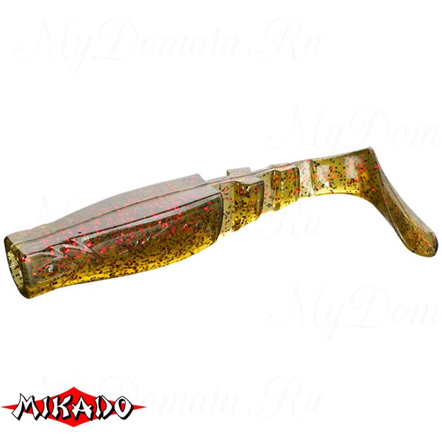 """Виброхвост Mikado FISHUNTER 2 """"съедобная резина"""" 11.5 см. / 358  уп.=3 шт., упак"""