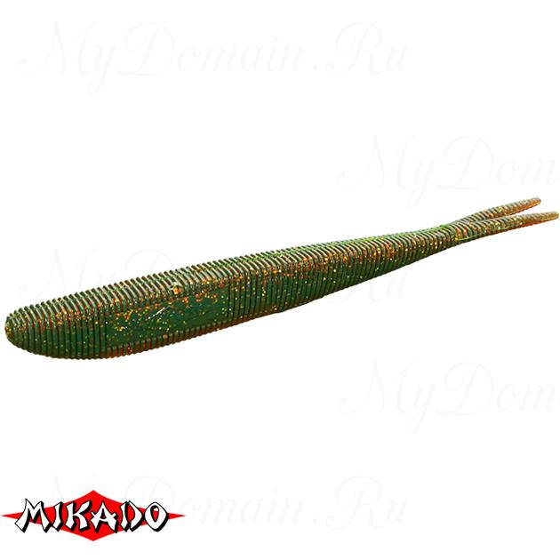 """Червь силиконовый Mikado SAIRA """"съедобная резина"""" 7 см. / 349  уп.=5 шт., упак"""