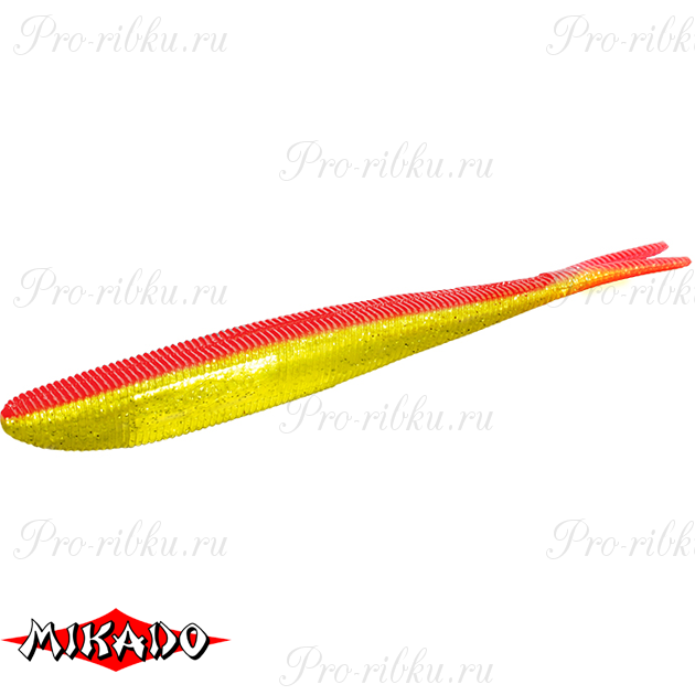 """Червь силиконовый Mikado SAIRA """"съедобная резина"""" 8.5 см. / 356  уп.=5 шт., упак"""
