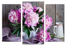 Розовые пионы 2