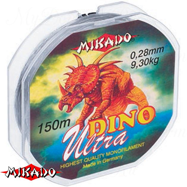 Леска мононить Mikado DINO ULTRA 0,20 (150 м) - 5.30 кг.  уп.=10 шт., шт