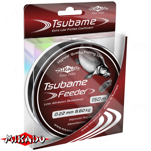 Леска мононить Mikado TSUBAME FEEDER 0,24 (150 м) - кг.  уп.=10 шт., шт