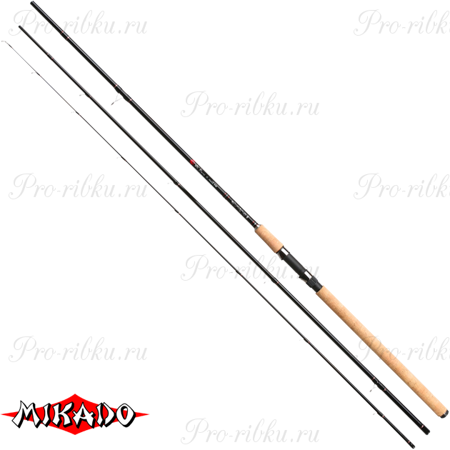 Удилище штекерное Mikado DA VINCI S-Match 420 (тест 10-30 г)