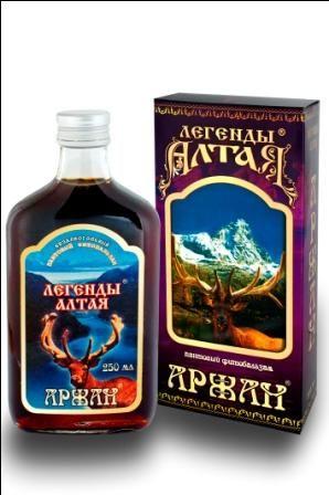 "Легенды Алтая ""АРЖАН"" (100 мл.)"
