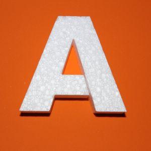 "Буква ""А"" 10 см, пенопласт (1уп = 5шт)"