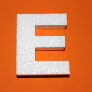 """`Буква """"Е"""" 10 см, пенопласт"""