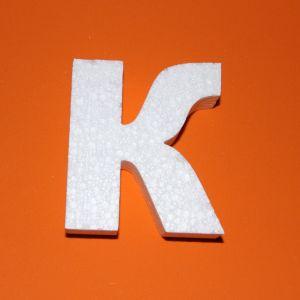 "`Буква ""К"" 10 см, пенопласт"