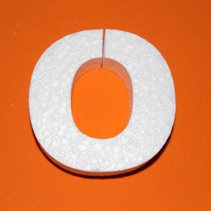 "Буква ""О"" 10 см, пенопласт (1уп = 5шт)"