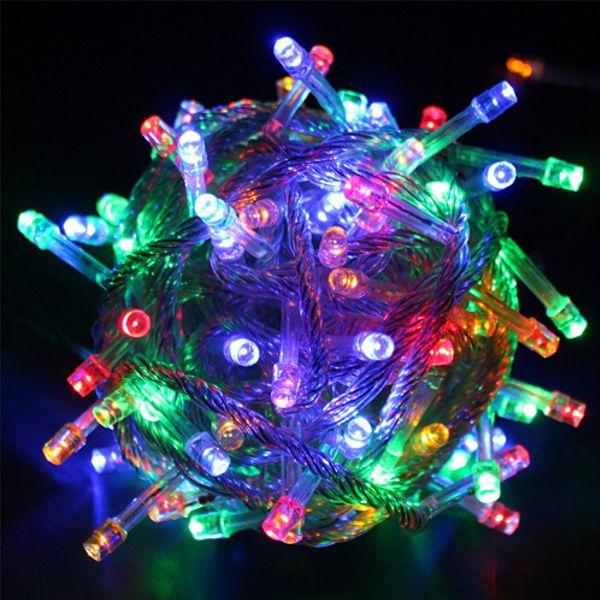 Новогодняя светодиодная гирлянда 100 LED лампочек 5м