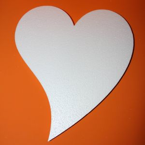 "Фигурка ""Сердце не симметричное"", 45 см (1уп = 2шт)"