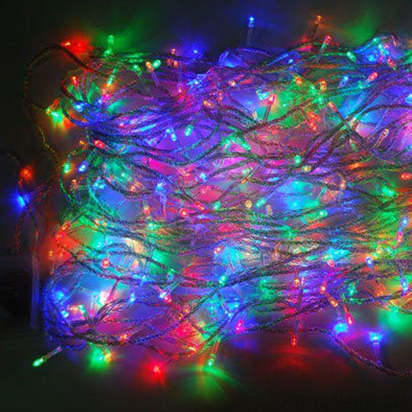 Новогодняя светодиодная гирлянда 400 LED лампочек 5м