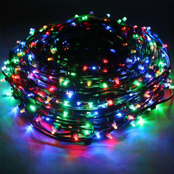 Новогодняя светодиодная гирлянда 500 LED лампочек 5м