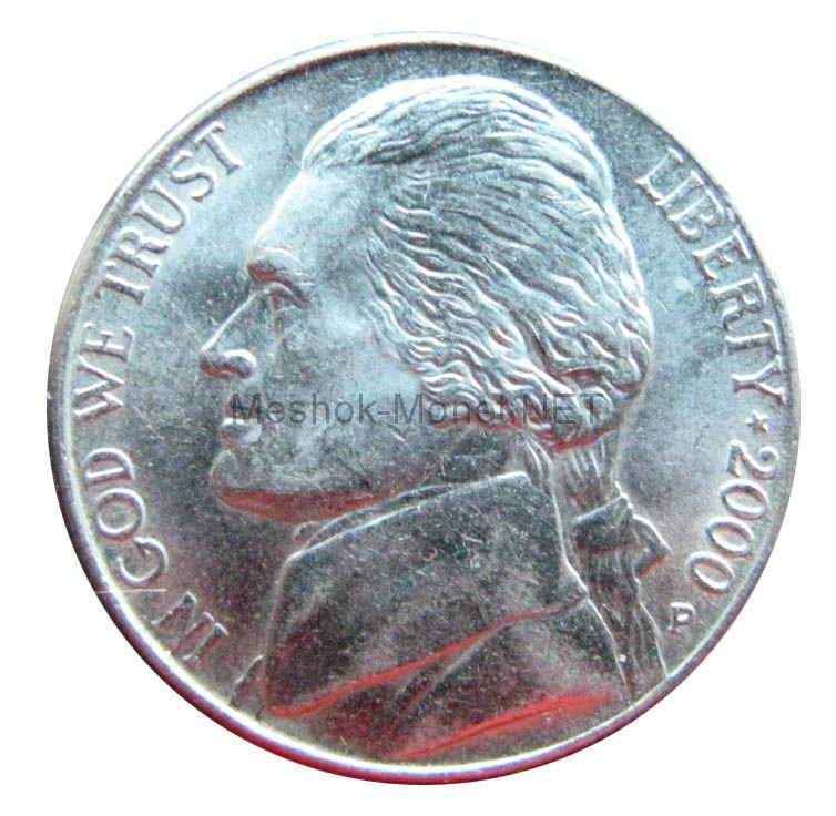 5 центов США 2000 г.