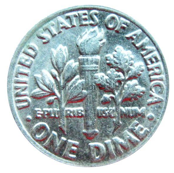 10 центов США 1973 г.