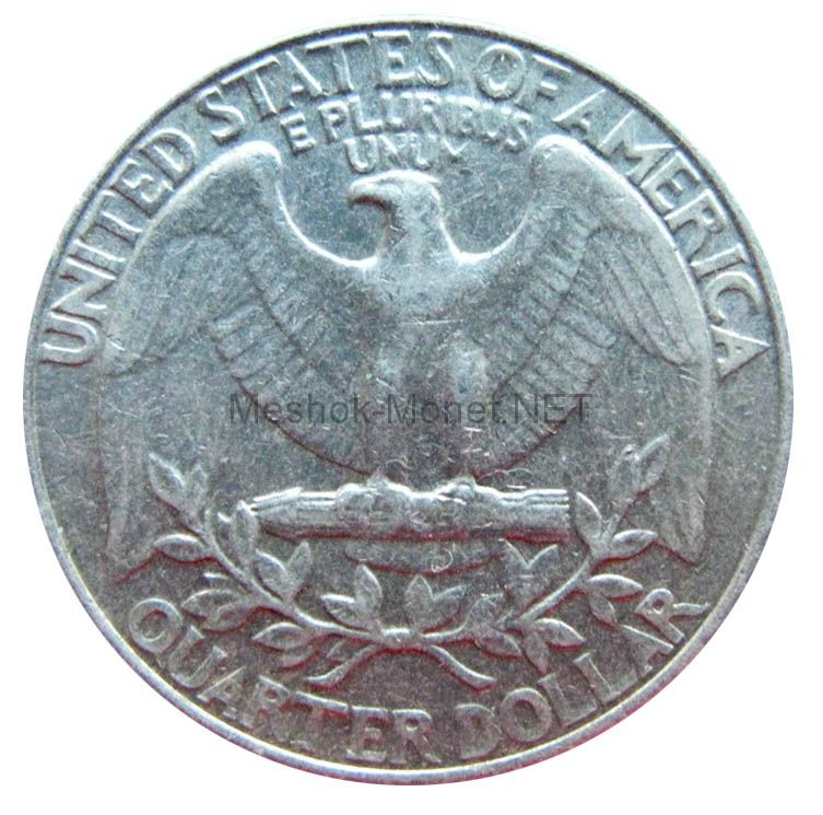 25 центов США 1998 г.