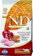 N&D Low Grain Cat Chicken & Pomegranate Neutered Низкозерновой корм для взрослых стерилизованных кошек, курица/гранат (1,5 кг)