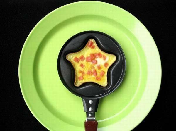 Мини сковородка-формочка с антипригарным покрытием (Форма: Звездочка)