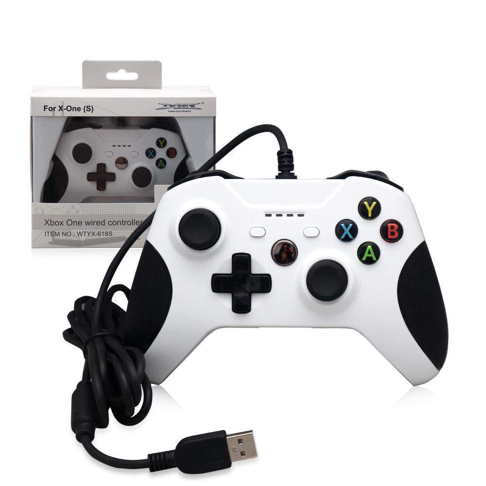 Джойстик XBox One S Controller White Wired (TYX-618S)