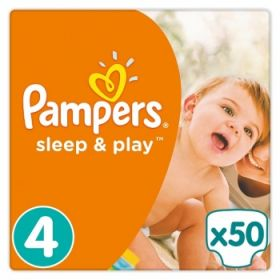 Pampers Sleep&Play 7-14кг, 50шт (4)