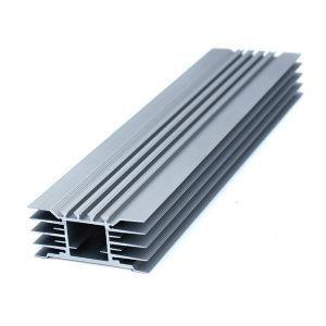Профиль алюминиевый 124x55мм 4,7кг