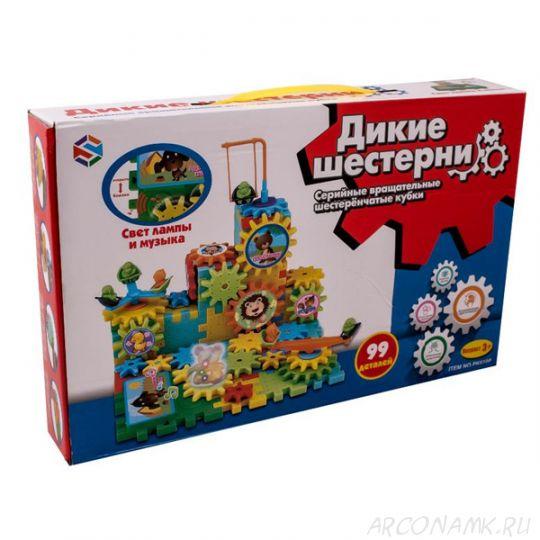 Конструктор Дикие шестерни - 99 детали