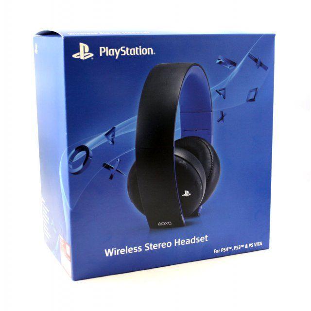 Наушники PS4 Sony Wireless Stereo Headset Gold (SCECHYA-0083)